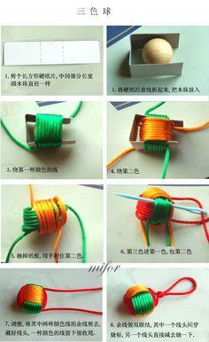 Monkey fist bead