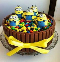 Geburtstagskuchen Minion für Kinder oder wie Du dein Kind richtig glücklich machst...