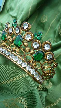 Antique French tiara.