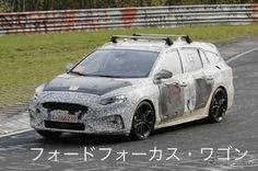 【新車スクープ】新型フォードフォーカス・ワゴン!ヘッドライトは、ボルボ風 写真・画像