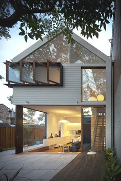 This is a really cool contemporary house in  Australia