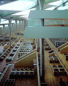 Bibliotheca Alexandrina, Egypt / Competition winning design by Snøhetta /  2015