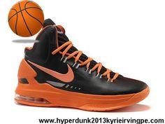 Wholesale Discount Nike Zoom KD V Black Orange Shoes Shop