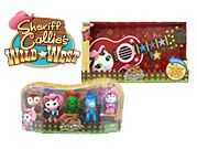 Each pack includes a Sheriff Callie 5 Figure Pack and a Sheriff Callie Strum & Star Guitar! Sheriff Callie, Win Prizes, Competition, Home And Family, Guitar, Kids, Young Children, Boys, Children
