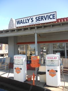 Wally's Service Station--Mount Airy, NC
