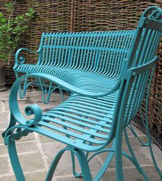James Price, Sussex Based Blacksmith: Designer of contemporary and bespoke architectural metalwork Garden Chairs Uk, Plastic Garden Chairs, Metal Garden Benches, Garden Seating, Metal Chairs, Outdoor Seating, Garden Furniture, Outdoor Chairs, Outdoor Decor