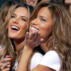 "34 Likes, 1 Comments - ~ADRIANA LIMA~ (@adrianalimadailyy) on Instagram: ""¤ADRIANA LIMA¤ Two beauties❤ #adrianalima #lima #angeladrianalima #vs #vsfashionshow…"""