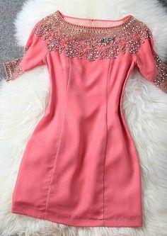 Nail Bead Costly Dress