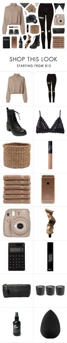 """911 / mr. lonely"" by teeenagers ❤ liked on Polyvore featuring Rejina Pyo, Topshop, Madden Girl, Eberjey, Pigeon & Poodle, NARS Cosmetics, Linum Home Textiles, Fujifilm, Aesop and Muji"