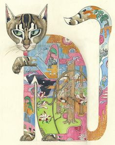 Il·lustracions de Daniel Mackie: animalari fantàstic - Pinzellades al món