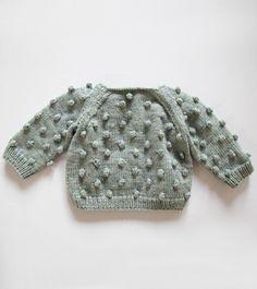 Misha Puff Popcorn Sweater, Zephyr