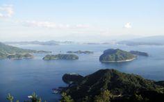 大崎上島 神峰山  View from Kaminesan in Oosakikamijima in Chugoku  http://osakikamijima-kanko.jp/index.html