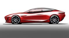 IED Alfa Romeo Gloria Concept Design Sketch- going on my Top Gear board since I have no car boards yet