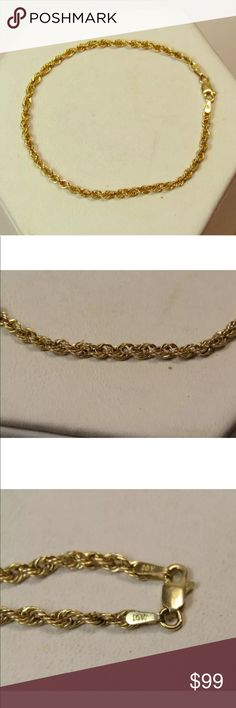 singapore adjustable chain gold white anklet