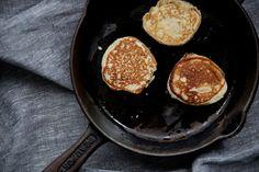 Coconut Flour Pancakes #PetiteKitchen