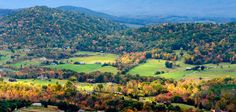 Fall view of Shenandoah valley, Virginia Photo by Viet Dao -- National Geographic Your Shot