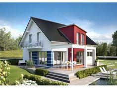 Innovation R Typ R140_1_V36 - #Einfamilienhaus von RENSCH-HAUS GmbH | Haus XXL #modern #Satteldach #Erker #Energiesparhaus