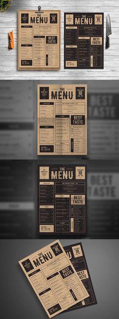 restaurant menu Design Layout Food Menu Template Ideas For 2019 Menu Restaurant, Restaurant Design, Restaurant Identity, Bar Menu, Pizzeria Menu, Restaurant Menu Template, Speisenkarten Designs, Good Enough, Cafe Menu Design