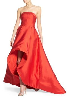 Mac Duggal Strapless High/Low Gown available at #Nordstrom