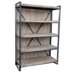 Industrial Expedition - Bookcase | $1,489.00 - Milan Direct