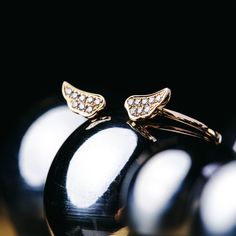 Or Rose, Rose Gold, Cufflinks, Wings, Delicate, Jewelry Making, White Gold, Wedding Rings, Engagement Rings