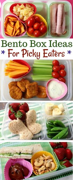 Back to School Bento Boxes Ideas - One Hundred Dollars a Month