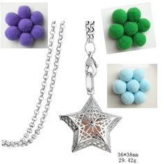 Find More Pendant Necklaces Information about Aromatherapy Perfume Essential Oil Diffuser Necklace Hollow Star Mesh Pattern Openable Locket with Pom pom ball Pendant Women,High Quality open locket,China essential oil diffuser necklace Suppliers, Cheap diffuser necklace from Winslet&Jean on Aliexpress.com
