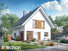 Projekt domu Dom pod limbami - ARCHON Home Fashion, Cabin, House Styles, Outdoor Decor, Home Decor, Homemade Home Decor, Cabins, Cottage, Decoration Home