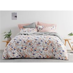 Rossita Double 100% Cotton 200 t/c Bedset, Multi from Made.com. Multi-Coloured. NEW Express delivery. This is your space - do something bold with i..