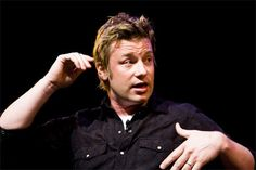 Jamie Oliver. Taking on the quest to change how the world eats!  Inspiring!