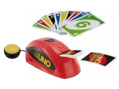 UNO Attack! switch adapted card game for adults and kids with disabilities