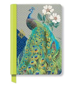 Love this Arcadia Peacock Hardcover Journal by Fringe Studio on #zulily! #zulilyfinds