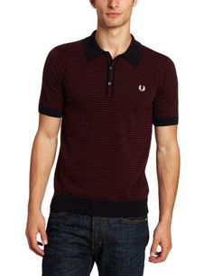 Fred Perry Men's Fine Stripe Shirt, Navy, X-Large « Impulse Clothes