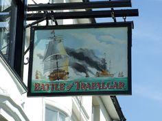 2009-03-20 Brighton Battle of Trafalgar Pub Sign | Flickr - Photo Sharing!