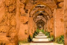 Moulay Ismail Granary in Meknes, Morocco