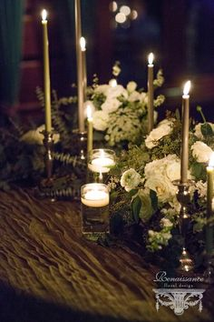 Eloping at the Lodge Wedding Table Centerpieces, Table Decorations, Lake Placid Lodge, Renaissance, Lodge Wedding, Spring 2015, Floral Design, Wedding Ideas, Candles