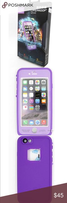 Selling this New Purple iPhone 6 Waterproof Protective Case in my Poshmark closet! My username is: everydaymarket. #shopmycloset #poshmark #fashion #shopping #style #forsale #Other