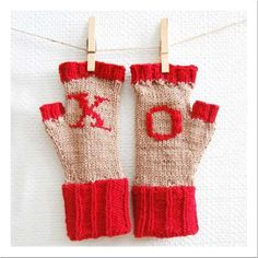 Valentine's Knitting Project
