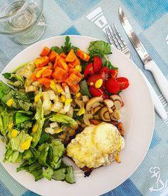 """159 Me gusta, 1 comentarios - María Chiara Balán (@cholubalan) en Instagram: """"#emplatandoideas  Verano sinónimo de color y sabor en el plato 🐚🌊🙆🍴 Les comparto mi idea de hoy: ▪…"""""""
