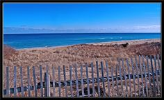 Cape Cod National Seashore, Massachusetts---cold waters!  Beautiful but watch out for sharks in the shallow waters here!!