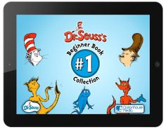 Screen shot for the iPad childrens book app named Dr. Seuss Beginner Book Collection #1