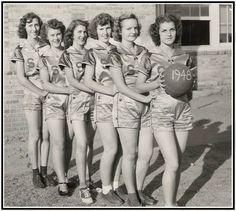 Saltillo High School 1948 Girls Basketball Team