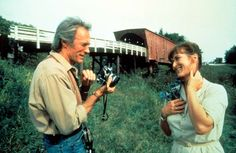 Romance movies for grownups:     The Bridges of Madison County ﴾1995﴿:   Directed by and starring Clint Eastwood, alongside Meryl Streep. The film is about photographer Robert Kincaid ﴾Eastwood﴿ who, while on an assignment, has an affair with housewife Francesca Johnson ﴾Streep﴿ that changes their lives.