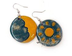 Made of clay: earrings