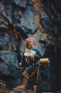 ....because Martin Freeman's Bilbo is what a Hobbit is