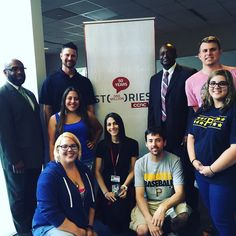 Dr. Bullock and Dr. Walters join the lineup with Jordy Mercer and #CCAC #Allegheny students! #PiratesAtCCAC #PittsburghPirates