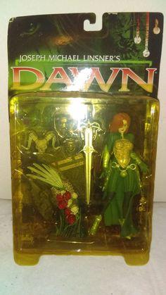 Joseph Michael Linsner's Dawn Action Figure by McFarlane Toys 1999 #McFarlaneToys