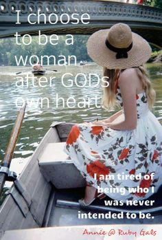 A woman after God's own heart...
