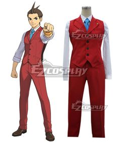 Ace Attorney Gyakuten Saiban Apollo Justice Cosplay Costume  Ace Attorney Gyakuten Saiban Apollo Justice Cosplay Costume  http://www.shareasale.com/m-pr.cfm?merchantID=38080&userID=1079412&productID=694200473