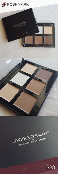 ANASTASIA Contour Cream Kit (FAIR) Authentic Authentic! Brand New, never even swatched. Decided to stick to my powders. Your gain, my loss. Anastasia Beverly Hills Makeup Foundation
